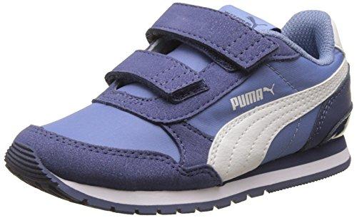 Puma Unisex-Kinder St Runner V2 NL V PS Laufschuhe Blau (Allure-Puma White)