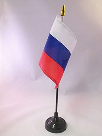 AZ FLAG Bandera de Mesa de Rusia 15x10cm - BANDERINA de DESPACHO ...