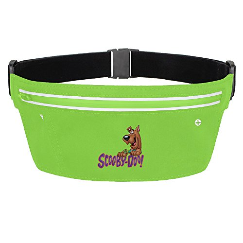 CGHNG Outdoor Bumbag Scooby Doo Mini Dumpling Waist Bag Packs Hip Bags For Women Man Outdoors Workout - Great For Running Hiking Travel Sport Fishing
