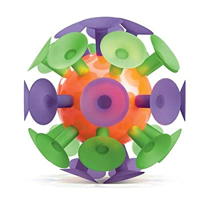Play Visions Giant Suction Cup Ball, Kids Toy - Throw It and Watch It Stick - 5 Inch Ball Surrounded by Strong Suction Cups: Toys & Games