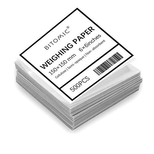 Bitomic 6x6 Cellulose Weighing Paper Sheet