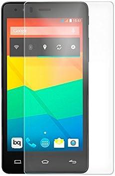 Protector Cristal Templado para Bq Aquaris E5 LTE 4G: Amazon.es ...
