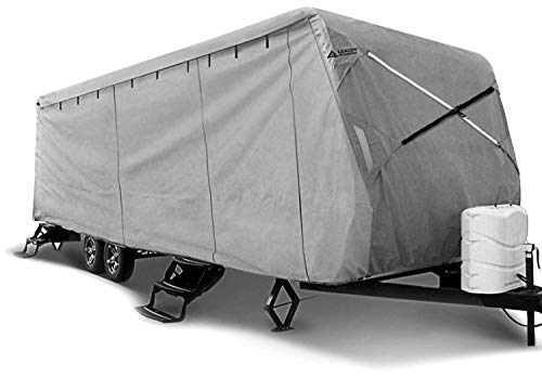 Leader Accessories Travel Trailer RV Cover Fits 35'-38' Trailer Camper Triple Layer Polypro (Travel Trailer Best Resale Value)
