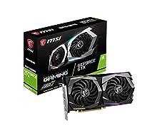 MSI GeForce GTX 1660 Ti GAMING 6G - Tarjeta Gráfica Enthusiast