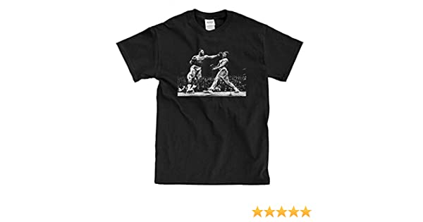 c9463c114106 Amazon.com: KoolKidzKlothing Joe Frazier Muhammad Ali Black T-Shirt:  Clothing
