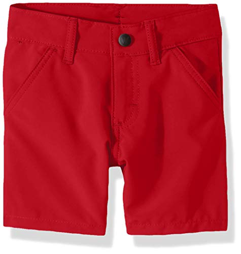 Wrangler Authentics Toddler Boys' Outdoor Hybrid Short, chili pepper, 5T]()