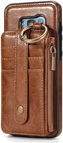 iPhone 6 PUレザー ケース, 手帳型 ケース 本革 耐摩擦 ビジネス 財布 カバー収納 スマホケース 手帳型ケース iPhone アイフォン 6 レザーケース