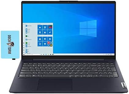 "Lenovo IdeaPad 5 Home and Business Laptop (Intel i7-1165G7 4-Core, 12GB RAM, 512GB SSD, Intel Iris Xe, 15.6"" Full HD (1920x1080), WiFi, Bluetooth, Webcam, 1xUSB 3.2, 1xHDMI, Win 10 Home) with Hub"
