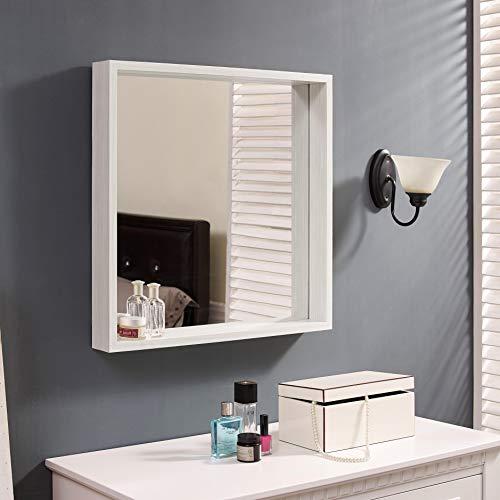 Naomi Home Square Storage Function Mirror -