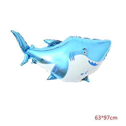 Children's Toy 32 Types Large Cartoon Animal Foil Balloons Birthday Party Decor Shark