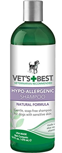 Vet's Best Hypo-Allergenic Shampoo for Sensitive Skin, 16 oz