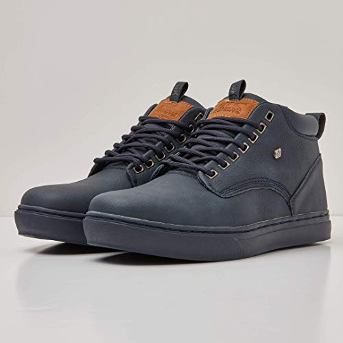 Wood Uomo blu Sneaker Navy A Blu Collo Navy Alto Knights British CYqxw5n