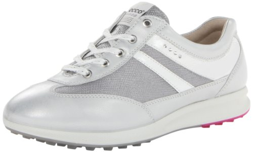 ECCO Women's Street EVO One Sport Golf Shoe,White,41 EU/10-10.5 M US