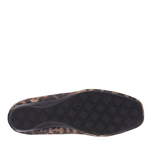 Vionic mujer Powell Demi Cuña Zapatos Tan Leopard