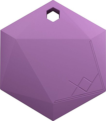 Xy3 1 Item Finder By Xy Findables   Anti Theft Alarm Item Locator   Find Your Lost Keys  Wallet  Phone  Etc   Low Energy 4 0 Bluetooth Tracker   Sleek Hexagon Design   Qty 1  Amethyst