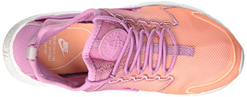 Nike Women's WMNS Air Huarache Run Ultra Br Gymnastics Shoes, Grey Multicolour (Orchid/Orchid/Sunset Glow/White 501)