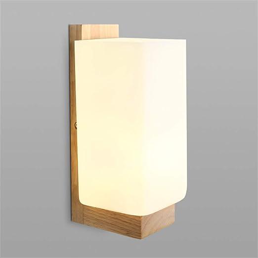 AKBOY LED Aplique de pared Madera Hueco Escultura Árbol Moderno Creativo Cuadrado Lámpara de pared Interior E27 Luces nocturnas para Niños Cuarto Cabecera Sala Pasillo Escalera Decoración Luz Pared: Amazon.es: Iluminación