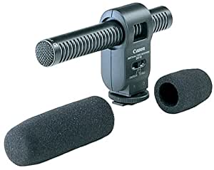 Canon USA BP-512 Directional Stereo Mic DM 50 for Camcorders with Advanced Access Shoe