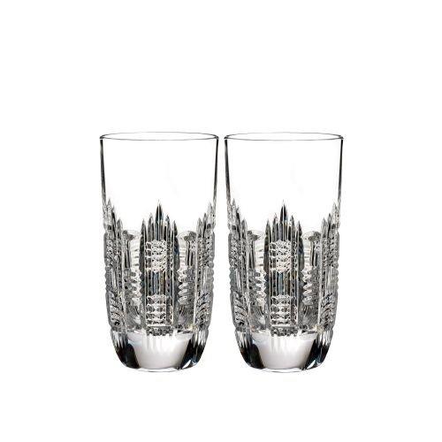 Waterford Essentially Dungarvan Set of 2 Hiball Glasses