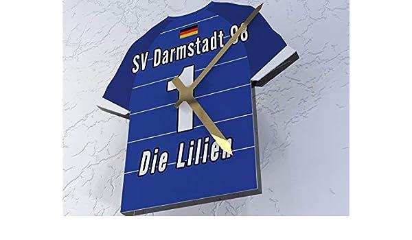 Alemania Bundesliga - camiseta de fútbol reloj - cualquier nombre, cualquier número, cualquier equipo., plástico, Darmstadt 98 Bundesliga Football shirt ...