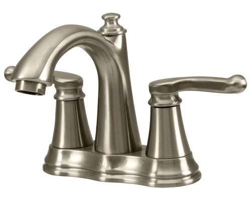 754-BN Brushed Nickel Double Handle Faucet
