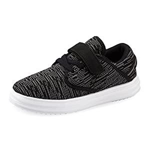 WANGZER Kids Lightweight Breathable Sneakers Easy Walk Casual Sport Shoes for Boys Girls