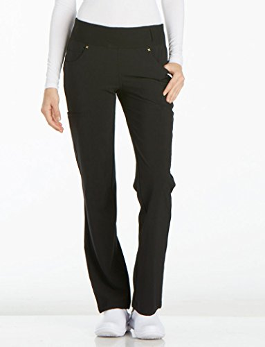 Cherokee iFlex CK002 Mid Rise Pull-On Pant Black 2XL Tall