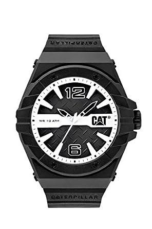 CAT WATCHES Mens LC11121132 Spirit Analog Display Quartz Black Watch