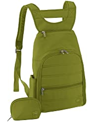 Lug Parachute Mini Backpack, Grass Green, One Size