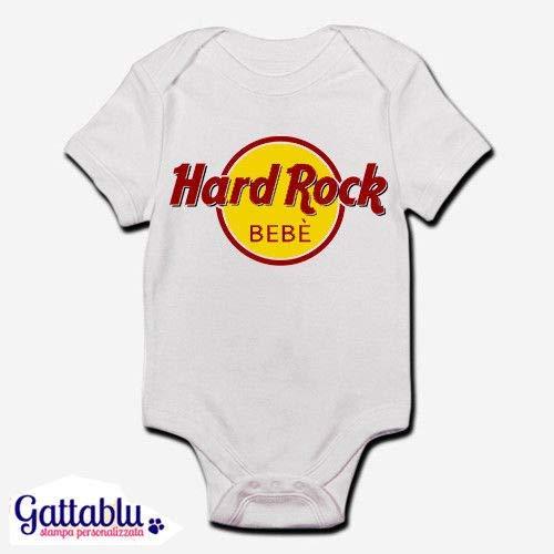 Body bimbo a neonato a bebè Hard Rock Bebè divertente  Amazon.it ... 7ab86fcd5770
