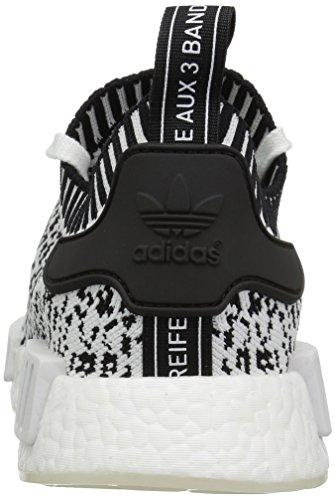 NMD Mujer Entrenamiento Negro Blanco de r1 Blanco Zapatillas para Primeknit Adidas HA7dqH