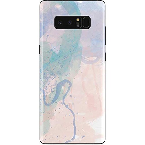 Abstract Art Galaxy Note 8 Skin - Rose Quartz & Serenity Splatter | Skinit Art Skin