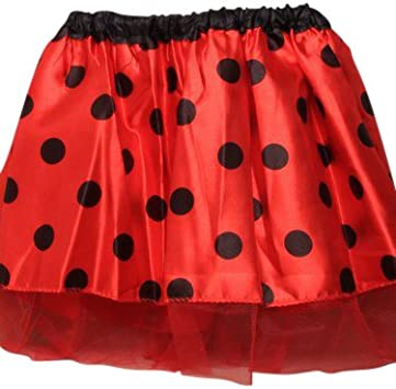 Disfraz infantil - Falda de Mariquita - Tutu - Ladybug - Cintura ...