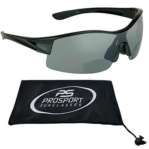 Bifocal Sunglasses 3.00 for Motorcycle Riding, Golf, Cycling, Driving and All Sports Activites. Fits Medium to Extra Large Head Sizes. Asian - Sunglasses Riding Best Motorcycle