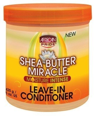 African Pride Ap - Ap Shea Butter Miracle Leave- In Conditioner 15oz Jar (6 Pack) by AFRICAN PRIDE