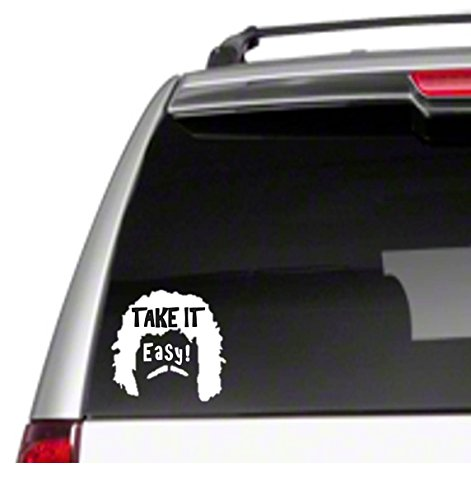 """Take it Easy 5.5"""" Car Vinyl Sticker Decal nacho libre, used for sale  Delivered anywhere in USA"""