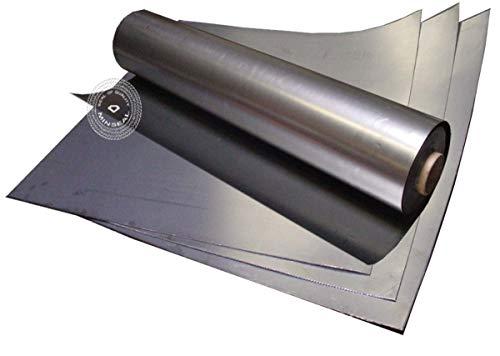 "MinGraph Flexible Graphite Foil/Sheet, Thickness .005"", Sheet Size 12""x40"", Pure Homogeneous, No Binder, No Insert, 99% Carbon,"