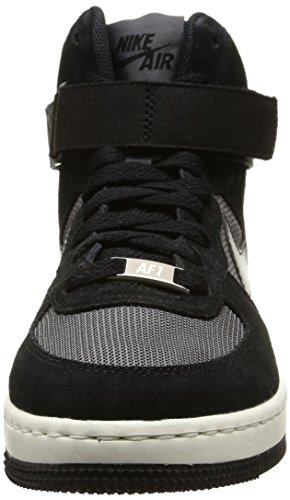 Nike W Af1 Ultra Force Mid -  para hombre Black/Black-Dark Grey