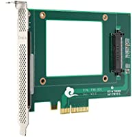 Funtin PCIe NVMe SSD Adapter with U.2 ( SFF-8639 ) Interface for 2.5 NVMe SSD