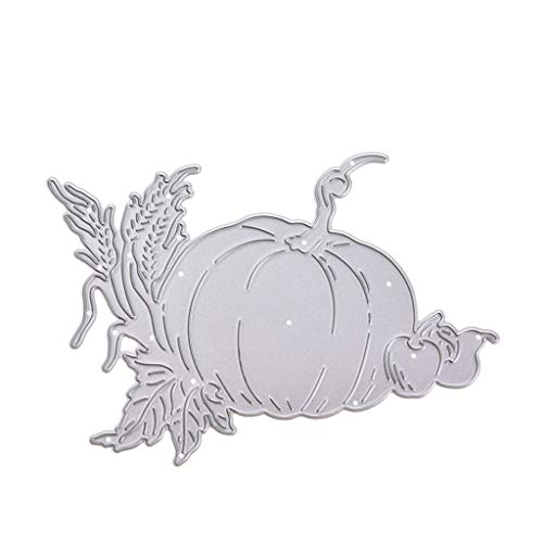 RingBuu Halloween Pumpkin, Carbon Steel, DIY Cutting Dies, Dies Stencil, for Scrapbooking/Embossing/Stamps/Paper/Album/Card Decor -