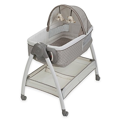 Dream Suite™ Bassinet in Paris Measures 35'' L x 23.5'' W x 30'' H by Graco® Dream SuiteTM
