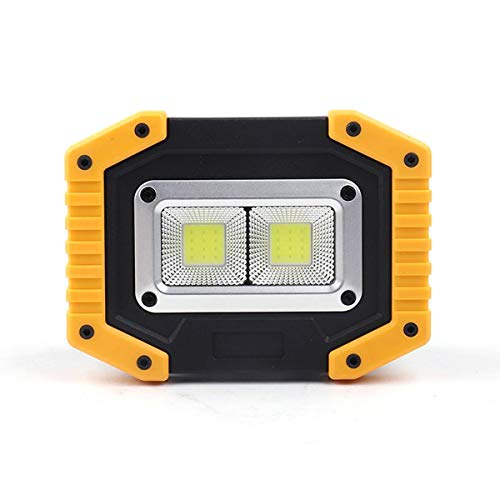 (Yuehuam LED COB Work Light, LED Floodlight Torch 30W COB Rechargable LED Work Light Flood Light with USB Port to Charge Mobile Devices for Outdoor Camping Emergency Repairing (Color : 3))