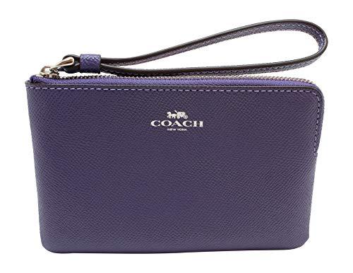 Purple Coach Handbag - 2