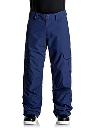 Quiksilver Mens EQYTP03060 Porter Shell 10k Snowboard Ski Pants Snowboard Pants - Blue - Large