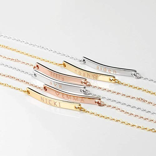 MignonandMignon Personalized Bracelet for Kids Childrens Jewelry New Baby Bracelet for Girls Christmas Gifts for Her New Baby Children Bracelet - 2BR