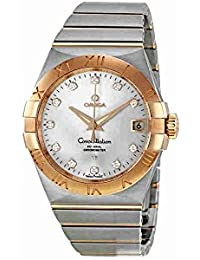 Constellation Chronometer Silver Dial Automatic Stainless Steel/Rose Gold Brushed Mens Watch 123.20.38.21.52.001