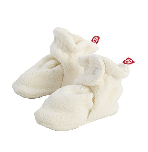 - Zutano Unisex-Baby Newborn Cozie Fleece Bootie, Cream, 3 Months