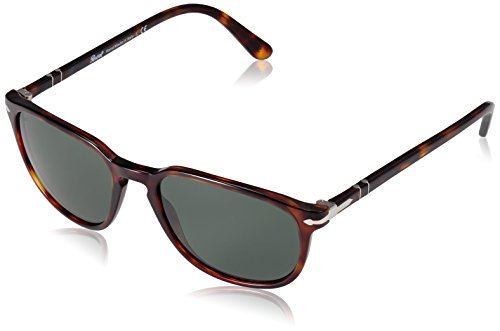 Persol PO3019S 24/31 Brown Havana PO3019S Oval Sunglasses Lens Category 3 Size (For Women Persol Eyeglasses)
