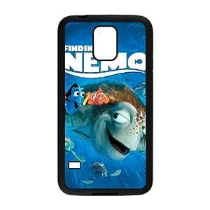 Alta resolución Buscando a Nemo Poster Samsung Galaxy S5 caja del teléfono celular funda Negro caja del teléfono celular Funda Cubierta EEECBCAAJ70017