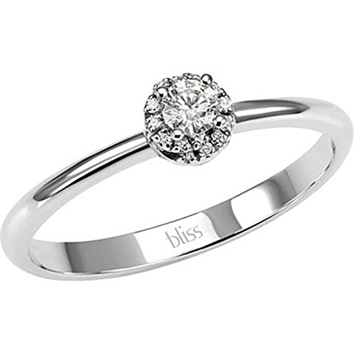 Bague Bliss pour femme 2005839314.0_ 0-Or blanc Diamant Taille 14.0
